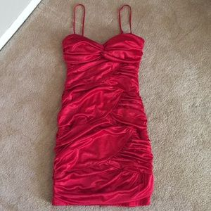 Red formal or date night dress